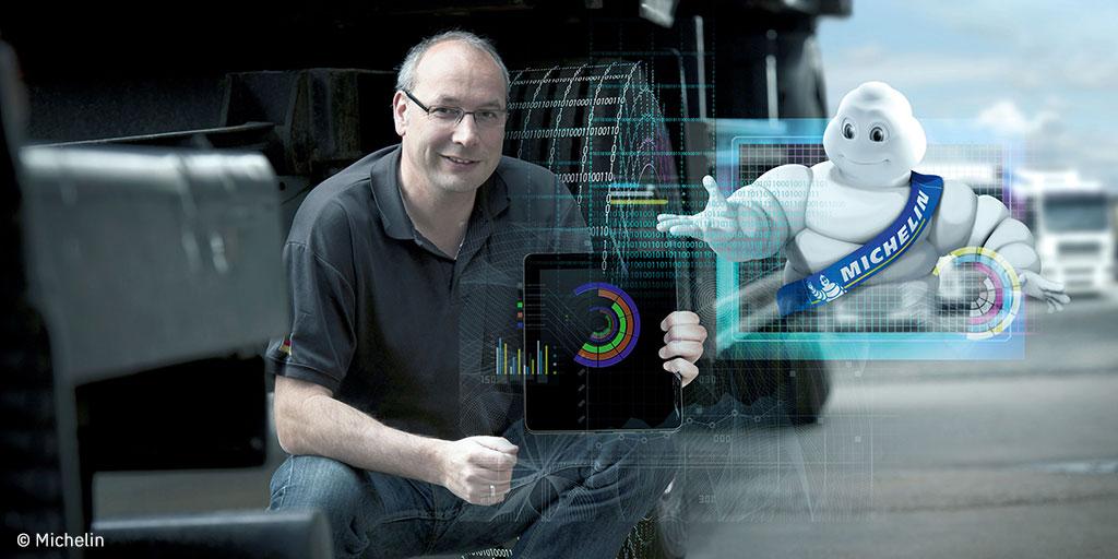 Un projet ADEME « gonflé » : le nouveau pneu connecté développé par Michelin et son partenaire Centum Adeneo