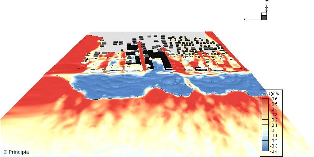 Principia modélise les impacts des tsunamis sur les installations sensibles