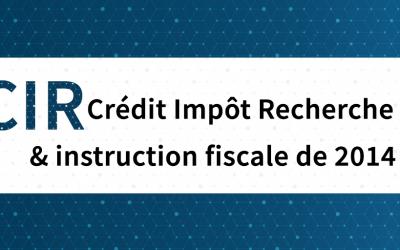 Crédit Impôt Recherche - Instruction fiscale