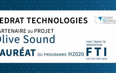 Cedrat Technologies - Lauréat FTI Olive Sound