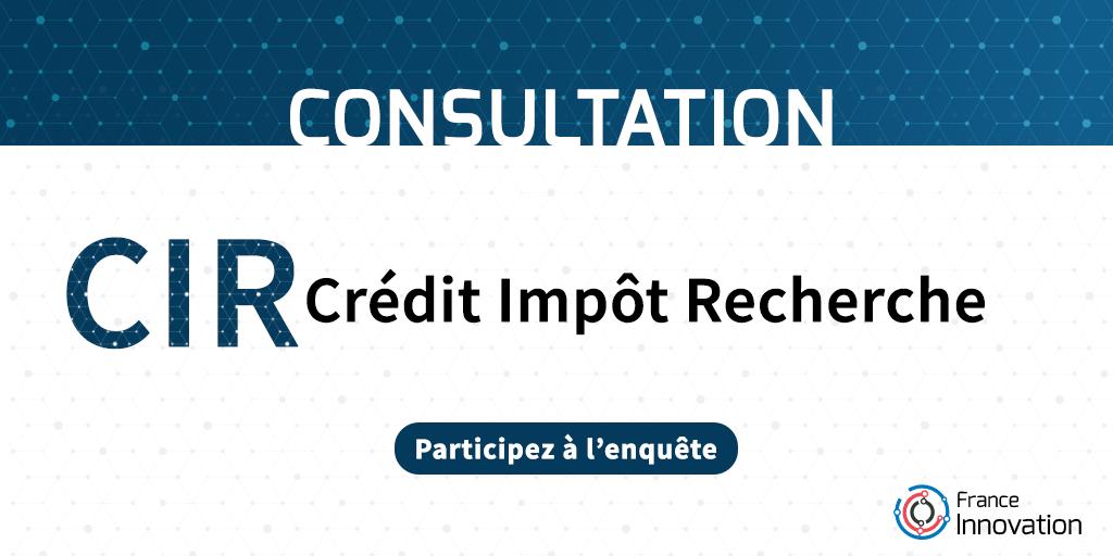 Enquête CIR - Crédit Impôt Recherche