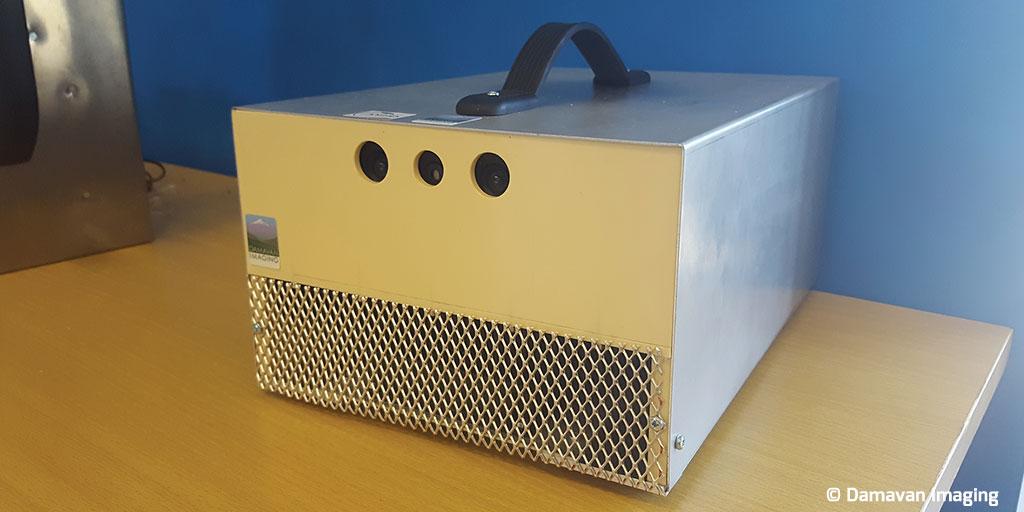DAMAVAN Imaging lauréat du programme Horizon 2020 Instrument PME afin de poursuivre le développement d'une caméra Compton à imagerie temporelle