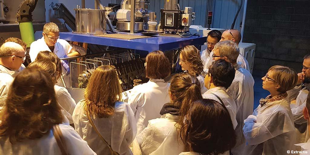 Extractis et la Chaire ABI partenaires pour développer  de nouveaux concepts  d'extraction et de purification