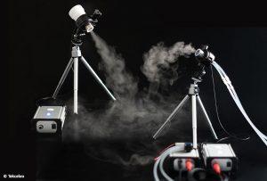 Les nébuliseurs T360 et T45, développés par Tekceleo