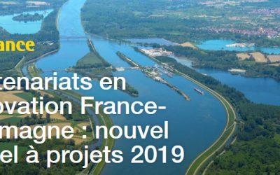 Appel à projets - Innovation France - Allemagne