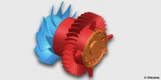Modèle éléments-finis d'un moto-ventilateur