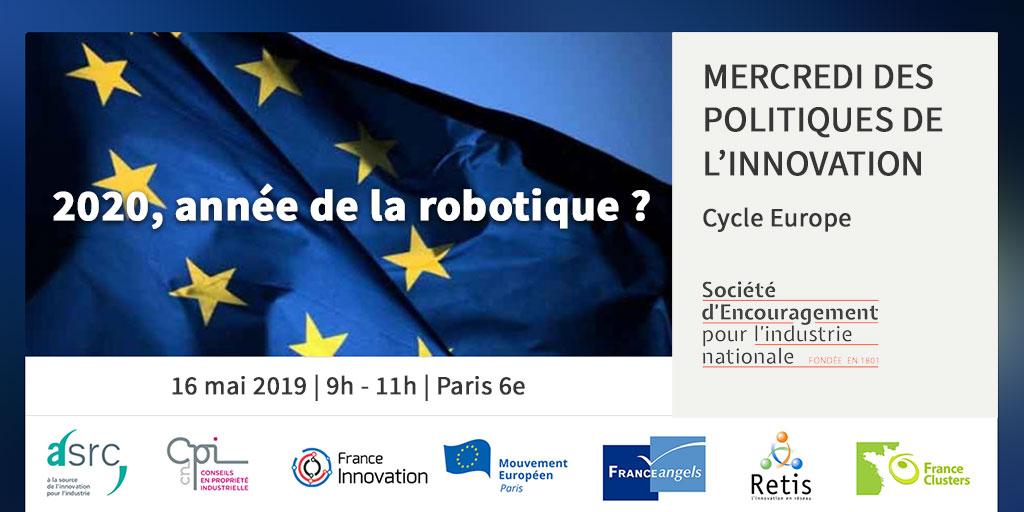 2020 : année de la robotique ? Mercredi des politiques de l'innovation