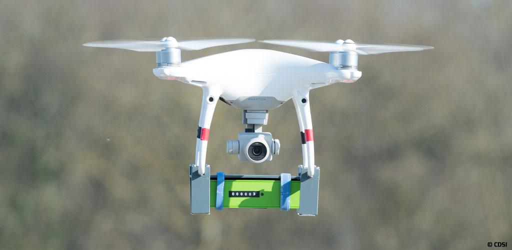 CDSI expérimente le géorepérage des drones au sein du projet européen Podium