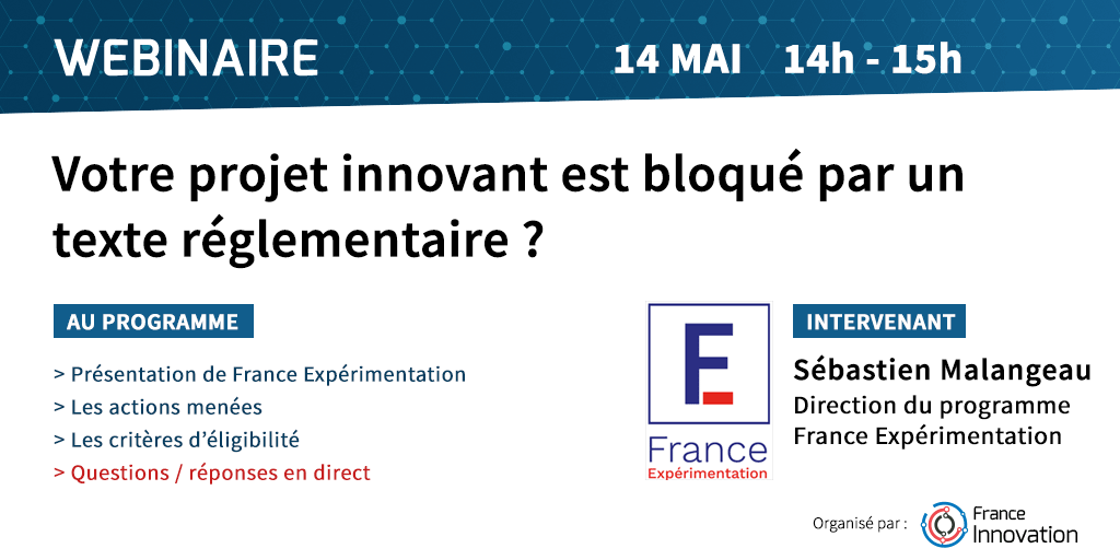 Webinaire France Experimentation