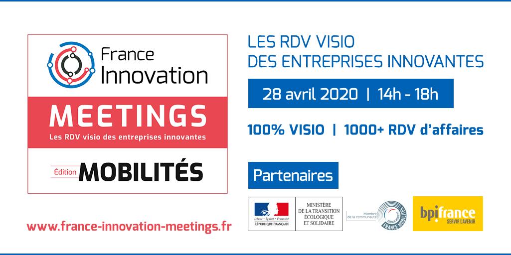 France Innovation MEETINGS : 2e édition dédiée aux Mobilités