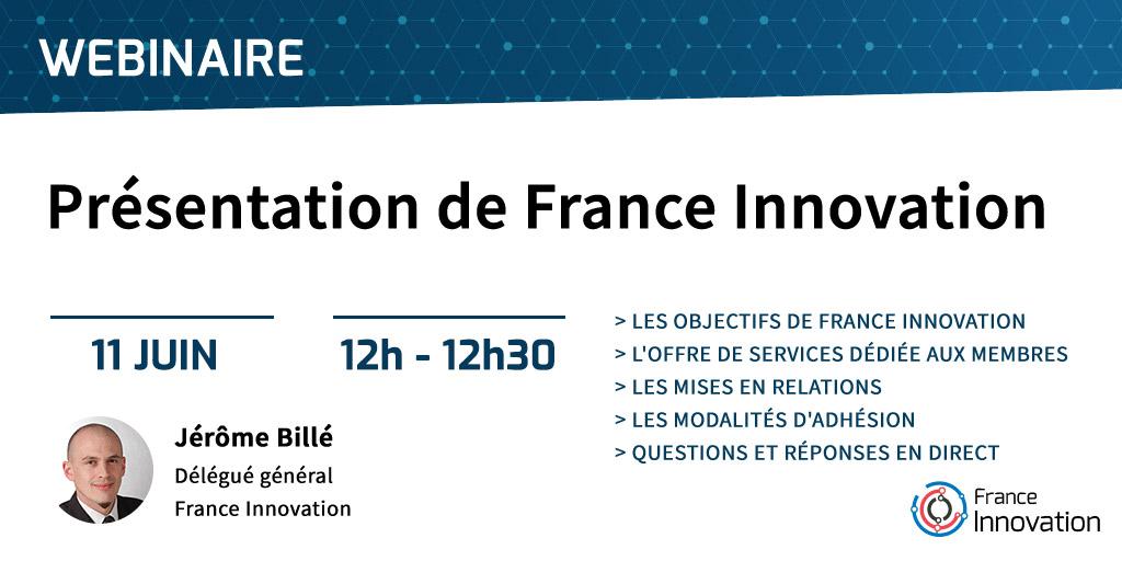 Webinaire Présentation de France Innovation
