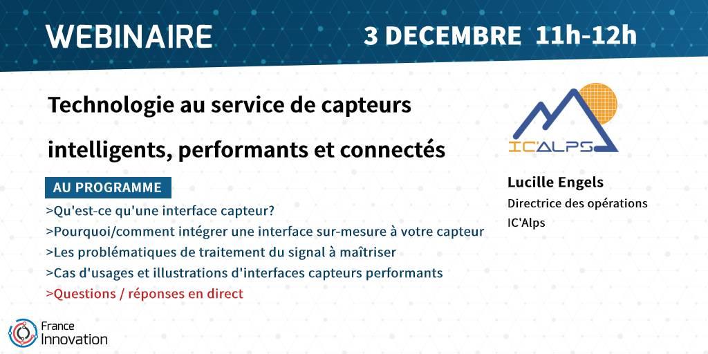 Webinaire IC'Alps - Capteurs intelligents, ASIC